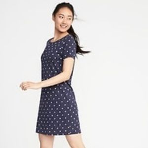 Old Navy Star Knit Tee Dress